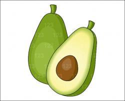 Avocado clipart malaysia