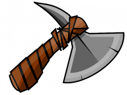 Native American clipart axe