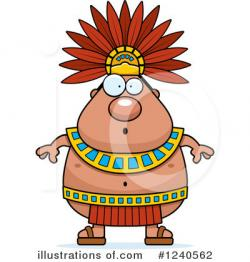 Mayan clipart aztec person