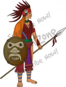 Soldiers clipart aztec