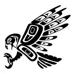 Aztec Warrior clipart eagle