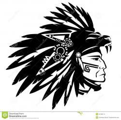 Aztec clipart chief