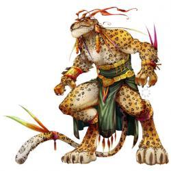 Aztec Warrior clipart jaguar
