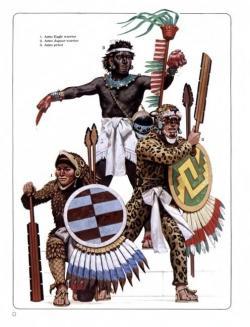 Aztec Warrior clipart pioneer