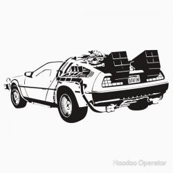 Back To The Future Delorean Clipart