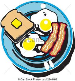 Breakfast clipart illustration