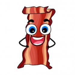 Bacon clipart character