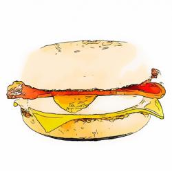 Bacon clipart mcdonalds