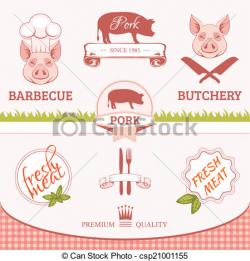 Bacon clipart packaged