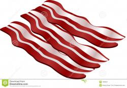 Bacon clipart vector