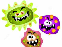 Bacteria clipart cancer cell