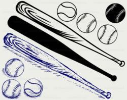 Baseball Bat clipart baseball card