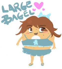 Bagel clipart large