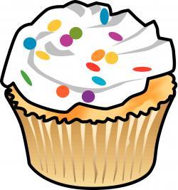 Vanilla Cupcake clipart bake sale