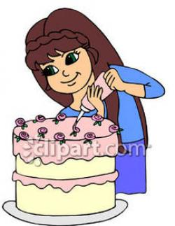 Icing clipart baking cake