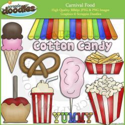 Cotton Candy clipart fair food
