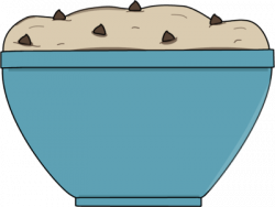 Baking clipart cookie dough