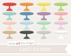 Dessert clipart cake stand