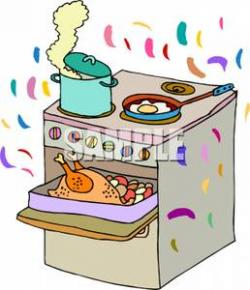 Gas Cooker clipart bake oven