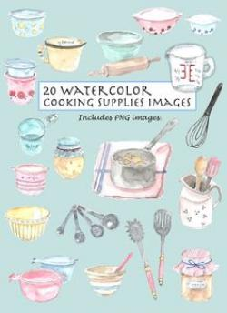 Water Color clipart art material