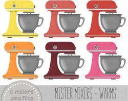 Baking clipart kitchen mixer