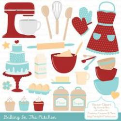 Baking clipart made