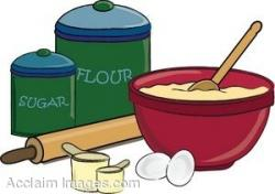 Cereal clipart baking bowl