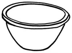 Cereal clipart mixing bowl