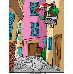 Alley clipart alleyway