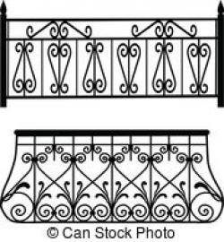 Balcony clipart railing