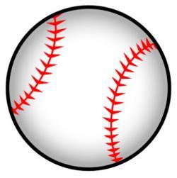 Baseball clipart softball