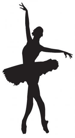 Shaow clipart ballet dancing