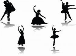 Ballerina clipart classical dance