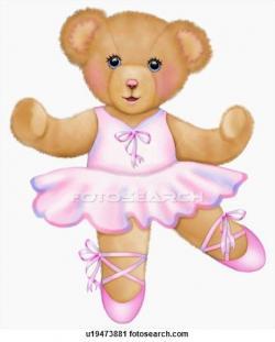 Teddy clipart ballerina