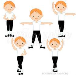 Ballerine clipart child