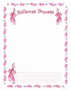 Ballet clipart frame