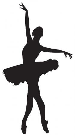 Shadows clipart ballet dancing