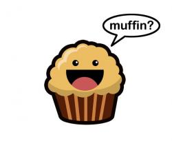 Drawn muffin