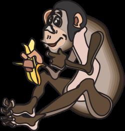 Chimpanzee clipart animated