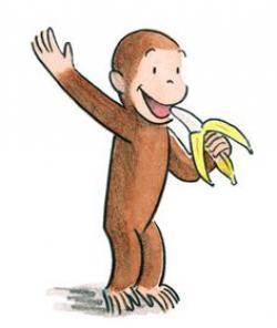 Banana clipart curious george