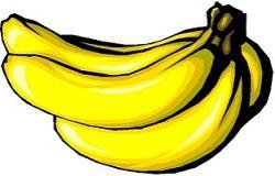 Banana clipart frut