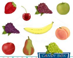 Sundae clipart fruit