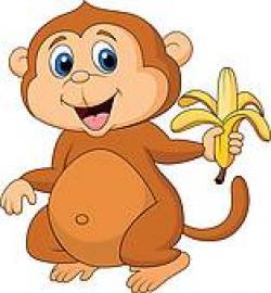 Chimpanzee clipart mokey