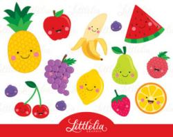 Blueberry Muffin clipart cute fruit