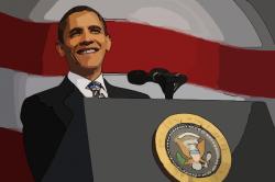 Presidents clipart speach