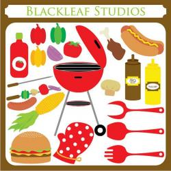 Barbecue Sauce clipart beach bbq