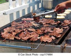 Barbecue clipart carne asada