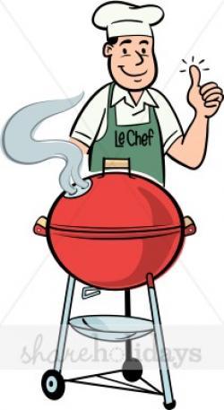 Barbecue clipart dad