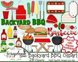 Barbecue Sauce clipart backyard bbq