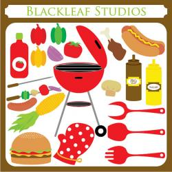 Barbecue Sauce clipart bbq party